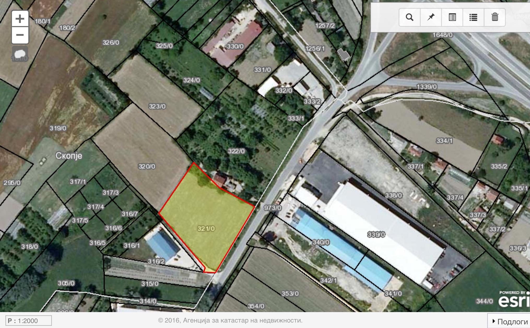 Plac vo Industriska zona -Idrizovo