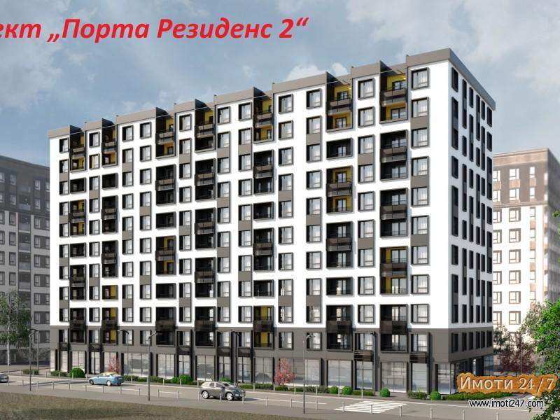 """61м2 стан во објект во изградба """"Резиденс 2"""" нАеродром"""