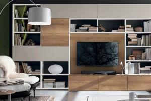 Осмислете функционала ТВ полица во дневната соба