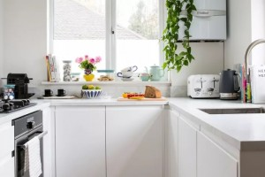 Како вашата мала кујна да ја направите визуелно поголема