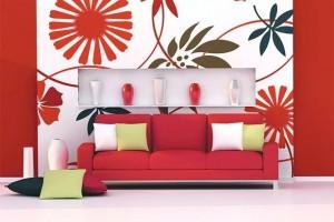 Поголем дизајн на тапетите го отвора просторот во станот